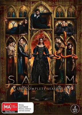 SALEM : Season 3 : NEW DVD