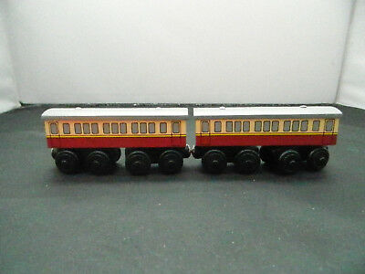 Thomas Friends Wooden Railway Learning Curve Express Coaches New Rare 1 Coach