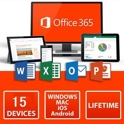 [LIFETIME]Microsoft Office Professional 2016/ office 365 Account For 15 Devices