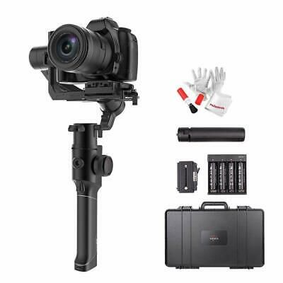 MOZA Air 2 3-Axis Stabilized Handheld Gimbal+ Hard Carrying Case+ Magic Arm