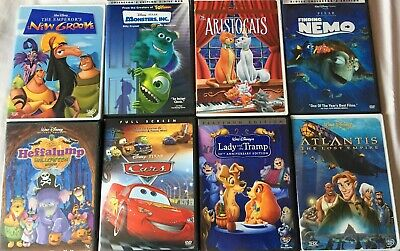 Classic Disney Movies on DVD: Some Titles are rare and hard to find editions