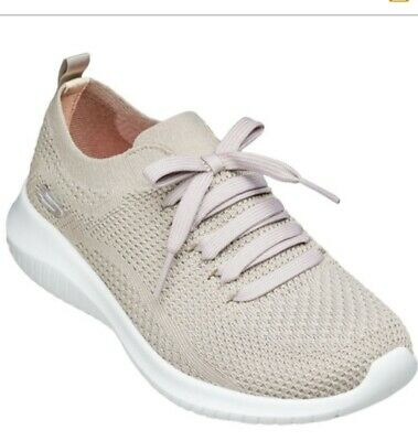 SKECHERS WOMEN'S ULTRA Flex Free Spirit Sneaker Taupe BEST PRICE FAST FREE SHIP