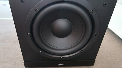 Jamo Sub 1810 Powered Subwoofer sub woofer home theatre ATMOS Dolby Receiver 5.1