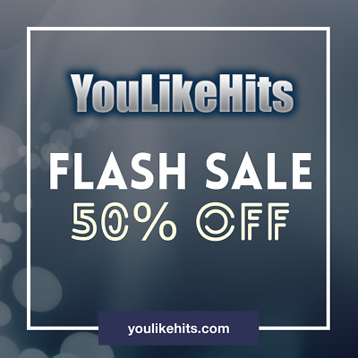 YouLikeHits.org 10k Credits (70% off)