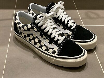 Vans Anaheim Factory Old Skool Style 36 DX Checkerboard Mens Sz US9.5 Og Vault