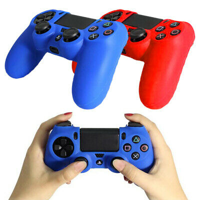 Soft Silicone Cover Skin Rubber Grip Case for Sony Playstation 4 PS4 Controller