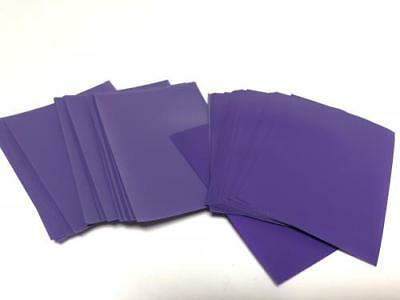 60pcs/pack DECK PROTECTOR Card Sleeves 62mm*89mm purple and Matte
