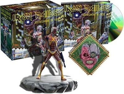 Iron Maiden Somewhere In Time (Deluxe Edition) New CD With Figurine