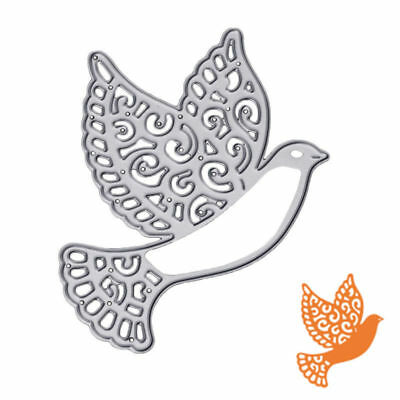 Peace Dove Metal Cutting Dies Stencils for DIY Paper Cards Scrapbooking Pip