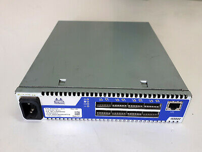 USED Mellanox-MIS5022Q-1BFR QDR InfiniBand Switch,  8 QSFP ports, 40Gb/s 1xPS