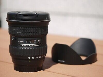 USED TOKINA AT-X PRO 116 11-16mm F2.8 DX Lens for Nikon (Ultra-wide angle)