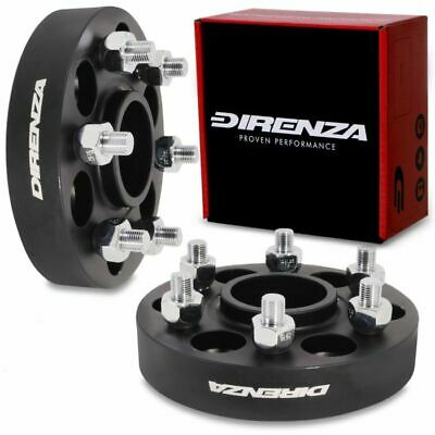 DIRENZA 6x114.3 30mm HUBCENTRIC ALLOY WHEEL SPACERS FOR NISSAN NAVARA PATHFINDER