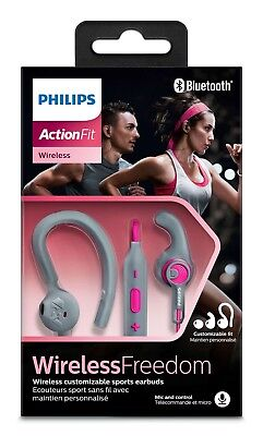 Philips Actionfit SHQ7555PK/10 Helmet Sport Bluetooth Etanche Remote