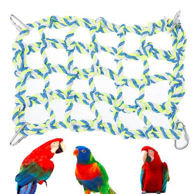 Small Animal Activity Toy Cotton Rope Net For Rat and Ferret Pet Bed for Parrot'