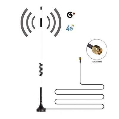 Eessley 12dBi High Gain Omni-Directional SMA Male Antenna, 700MHz-2700MHz Wide B