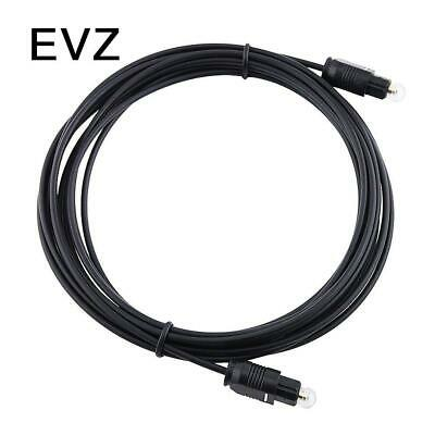 EvZ Abacus24-7 OPTICAL TOSLINK DIGITAL FIBER OPTIC AUDIO CABLE-12 feet