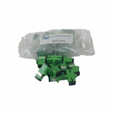 PacSatSales - Fiber Optic Couplers and Adapters - ST, SC/APC, SC, LC, FC - Indus