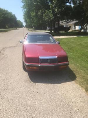 1989 Chrysler Lebaron Convertible *FOR PARTS 1989 Chrysler Lebaron Convertible *FOR PARTS