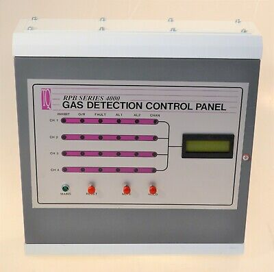 Tq4000 – 1-4 Channel Gas Detection Control Panel