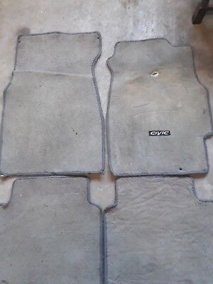 OEM 96-00 Honda Civic  floor mat,ek9,ek4,ek3ej1,ej6,em1,rs,civic,sir,si,vti