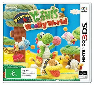 Nintendo 3DS - Poochy and Yoshi's Woolly World Game (2DS/3DS)