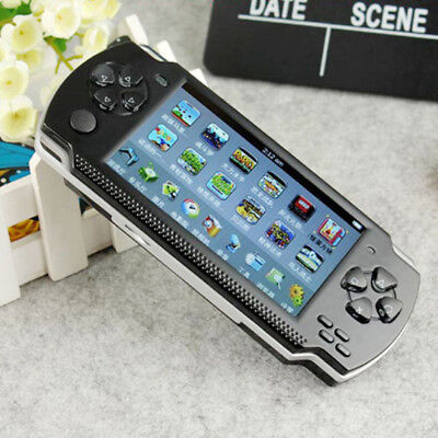 """X68G 32 bit 4.3 """"PSP Portable Handheld Game Console Player 10000 Giochi mp4+ Kt"""