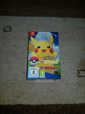 Lets Go Pikachu + Pokeball Plus Nintendo Switch neu