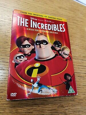 The Incredibles (Disney Pixar) 2-Disc Dvd Set