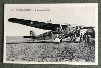 CPA. CPSM. ISTRES Aviation. Trimoteur S. P. C. A.
