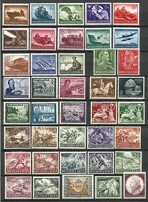 Germany Third Reich 1941-1944 Collection MNH/MH Commemorative Stamps - Lot 3