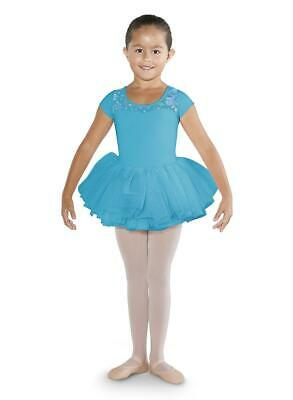 653932632 NWT BLOCH LILAC Cap Sleeve Leotard Ballet Dance Dress Med Child 8-10 ...