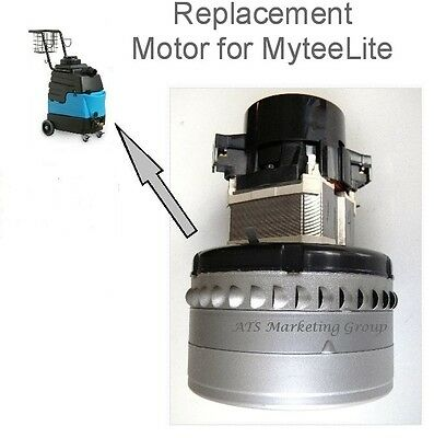 Carpet Cleaning 3-Stage Peripheral Vacuum Motor for Mytee 8070