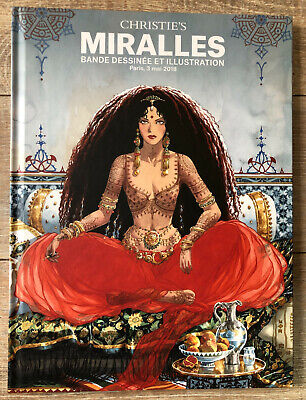 Catalogue BD CHRISTIE'S MAGHEN SPECIAL MIRALLES 3/5/2018 NEUF