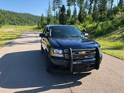 2009 Chevrolet Tahoe Police/Special Service 2009 Chevy Tahoe- Grill guard/lights/horn all work- Police/Special Service