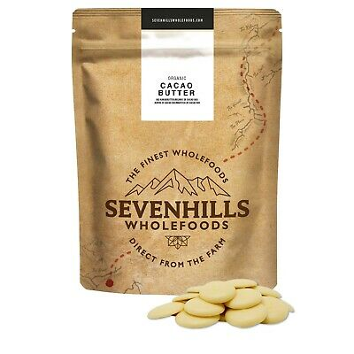 Sevenhills Wholefoods Organic Cacao Butter   Chocolate Detox, Baking