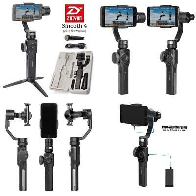 Zhiyun Smooth 4 3-Axis Handheld Gimbal Stabilizer, Upgraded Phone Camera Video T