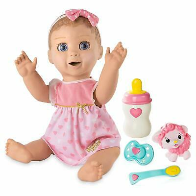 Spin Master Luvabella Blonde Hair Interactive Baby Doll- Expressions & Movement
