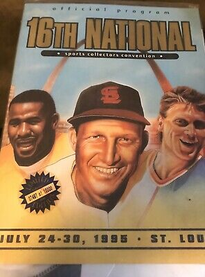 16th National Sports Collector's Convention Program (Sealed)