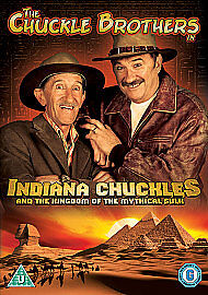 Chuckle Brothers: Indiana Chuckles DVD                           ebay
