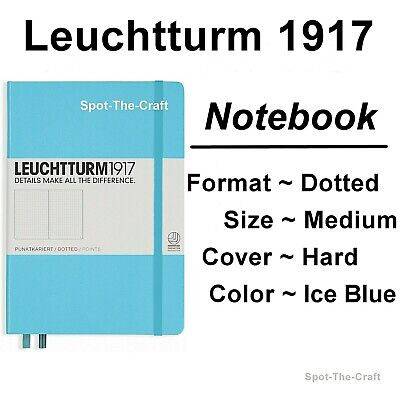 Leuchtturm1917 - Dotted Journal / Notebook - Medium A5 - Ice Blue