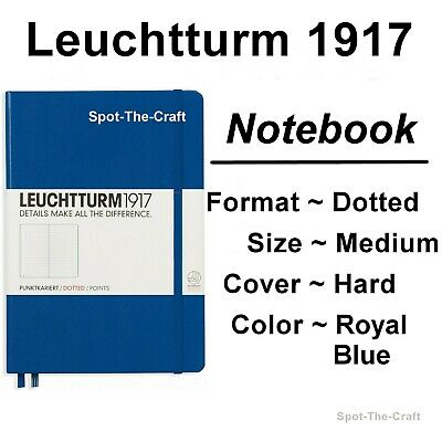 Leuchtturm1917 Dotted Journal Notebook Medium A5 Royal Blue 344747