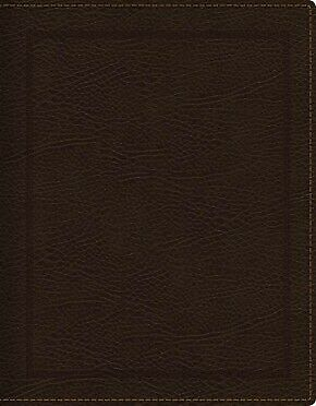 KJV, Journal the Word Bible, Bonded Leather, Brown, Red Letter Edition,  .. NEW