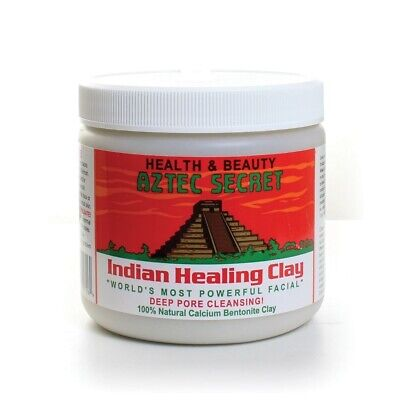 Aztec Indian Healing Calcium Bentonite Clay Face Mask Natural 1lb Genuine Stock