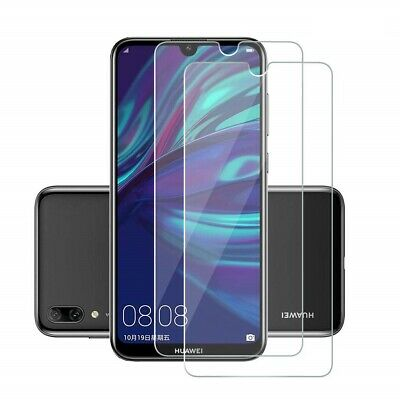 Scratch Resist Tempered Glass Screen Protector Film Guard For Huawei Y7 Pro 2019