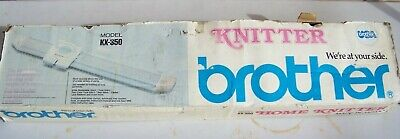 Brother Home Knitter Model KX-350 Pre-Owned