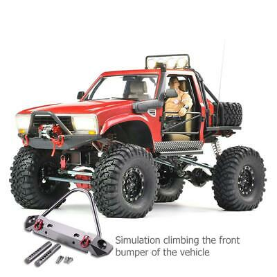 METAL FRONT BUMPER Suitable for 1:10 Axial Scx10 Model RC