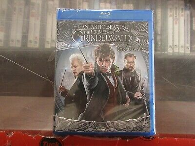 BRAND NEW Fantasic Beast The Crimes Of Grindelwald (Blu Ray + DVD + Digital)