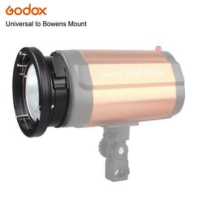 Godox Universal Mount To Bowens Mounts Ring Adapter Studio Flash Strobe 120W 250