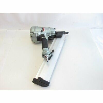 Hitachi Nr90ad  2-Inch to 3-1/2-Inch Clipped Head Paper Collated Nailer