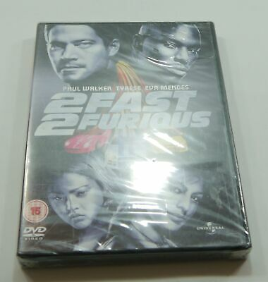 2 Fast 2 Furious DVD PAL Region 2 New Sealed - Fast Free Delivery